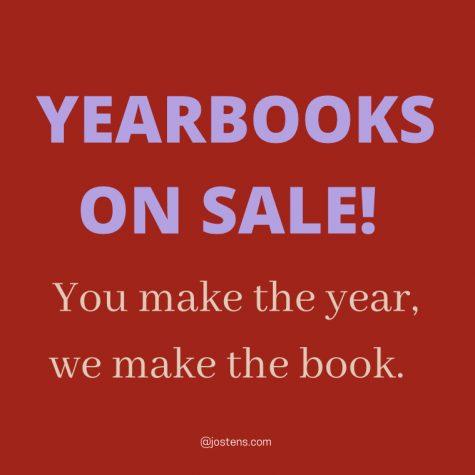 Buy your yearbooks!